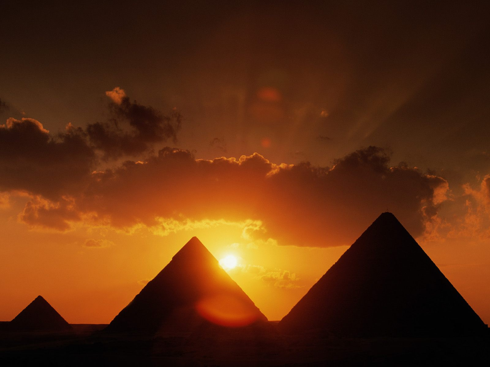 Egyptian Pyramids, alternative history