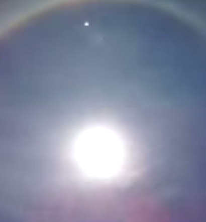 Sun Halo In Mexico 2015