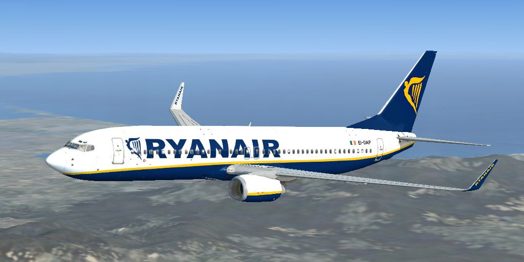 Ryanair flight has near miss with UFO