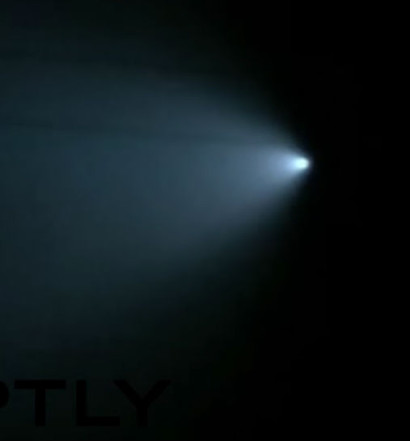 UFO with blue light spotted over california novermber 2015